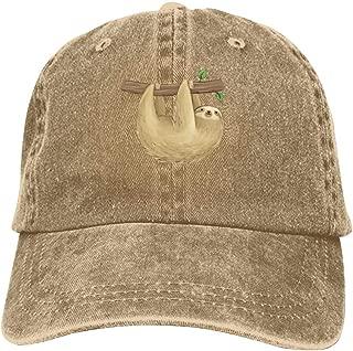 Let's Hang Out Baseball Cap Unisex Washed Cotton Denim Hat Adjustable Caps Cowboy Hats