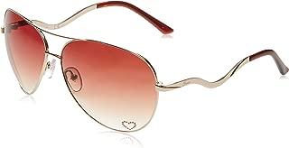 Guess Women's Fashion Sun GU 7021 H73 Sunglasses, Brown, 63 mm
