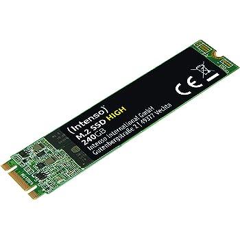 Intenso M.2 SSD SATA III High Performance 240 GB: Amazon.es ...