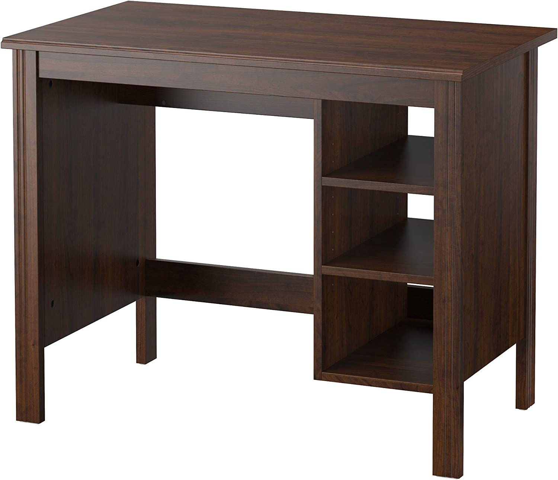 IKEA Brusali Desk 最新号掲載アイテム Brown 未使用