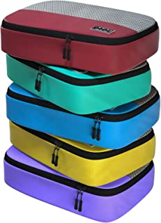 Dot&Dot Medium Packing Cubes for Travel - 4 Piece Luggage Accessories Organizers