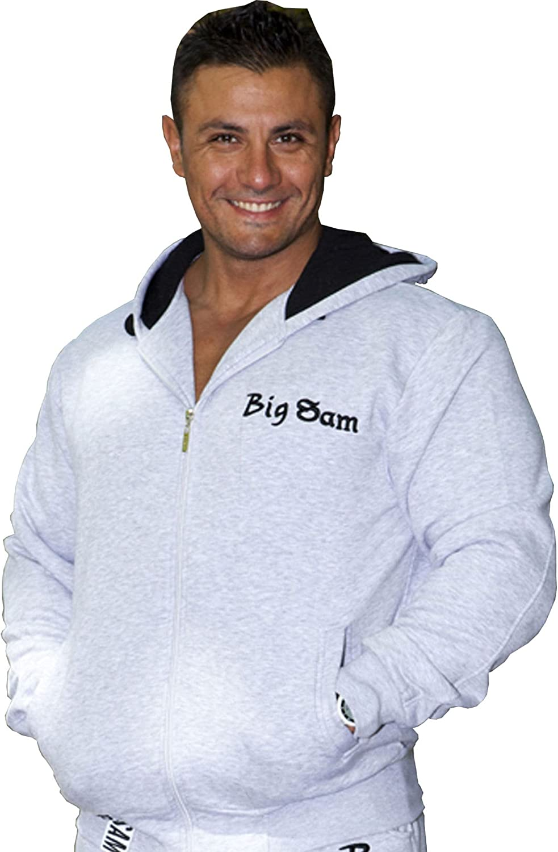 BIG SM EXTREME SPORTSWEAR Herren Sweater Sweatshirt Jacke Hoody 3551
