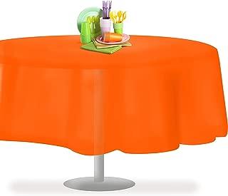 Best 70 round orange tablecloth Reviews