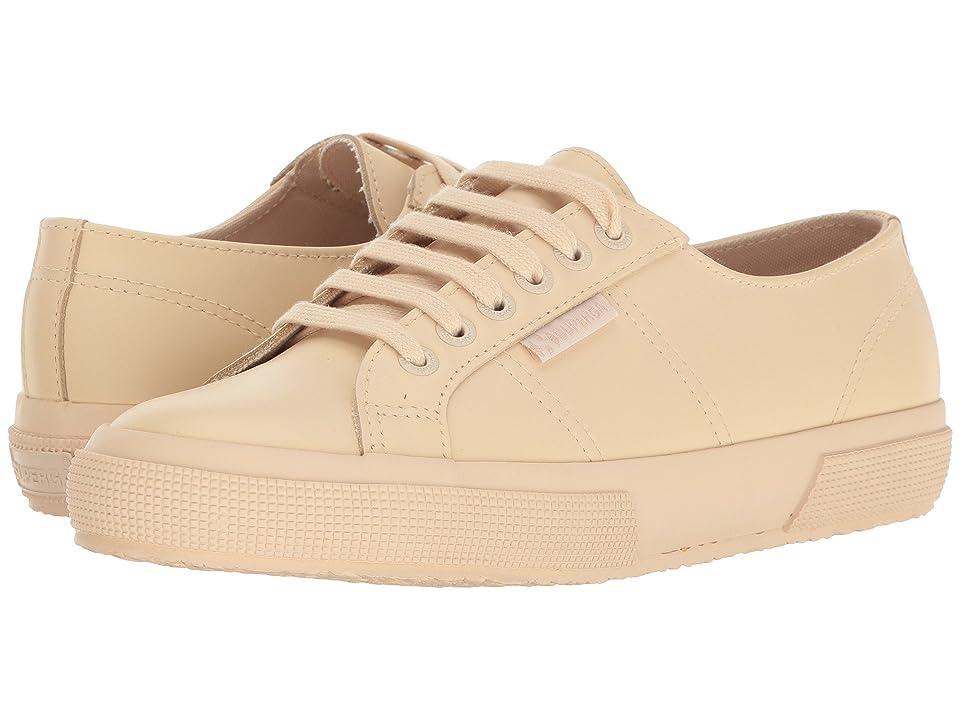 Superga 2750 FGLU Sneaker (Ivory Leather) Women