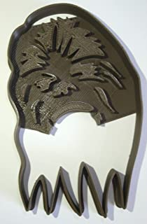 CHEWBACCA CHEWIE WOOKIEE WARRIOR HAN SOLO CO PILOT STAR WARS MOVIE CHARACTER SPECIAL OCCASION COOKIE CUTTER BAKING TOOL 3D PRINTED MADE IN USA PR904