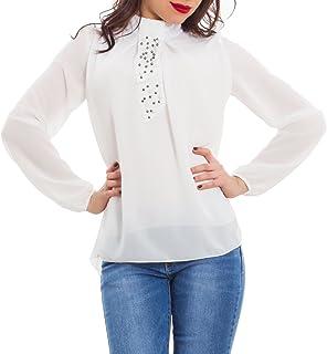 Donna Elegante E itCamicia Camicie Bluse T Amazon Toocool VpSzMqU