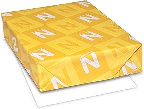 Neenah Classic Crest Writing Paper, Letter 8.5 x 11 Inches, 24 lb, Avon Brilliant White 97 Brightness, 500 Sheets (01338)