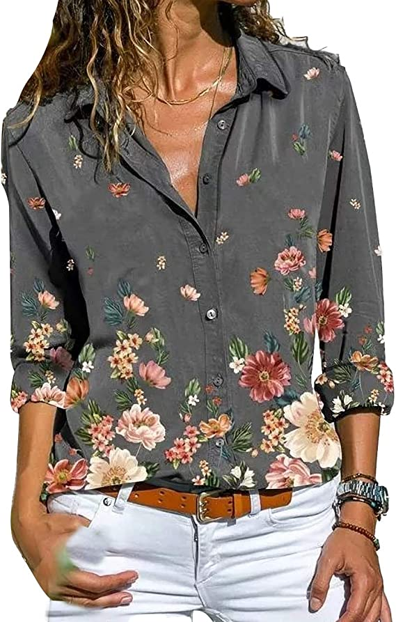 TICOSA 2021 Autumn Winter New Women's Blouses Long Sleeved Button-Down Shirts