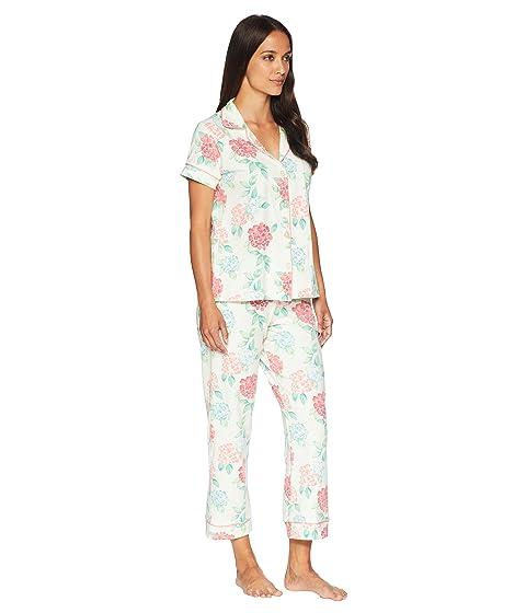 a55daba9d36b Bedhead Short Sleeve Classic Cropped Pants Two-Piece Pajama Set ...
