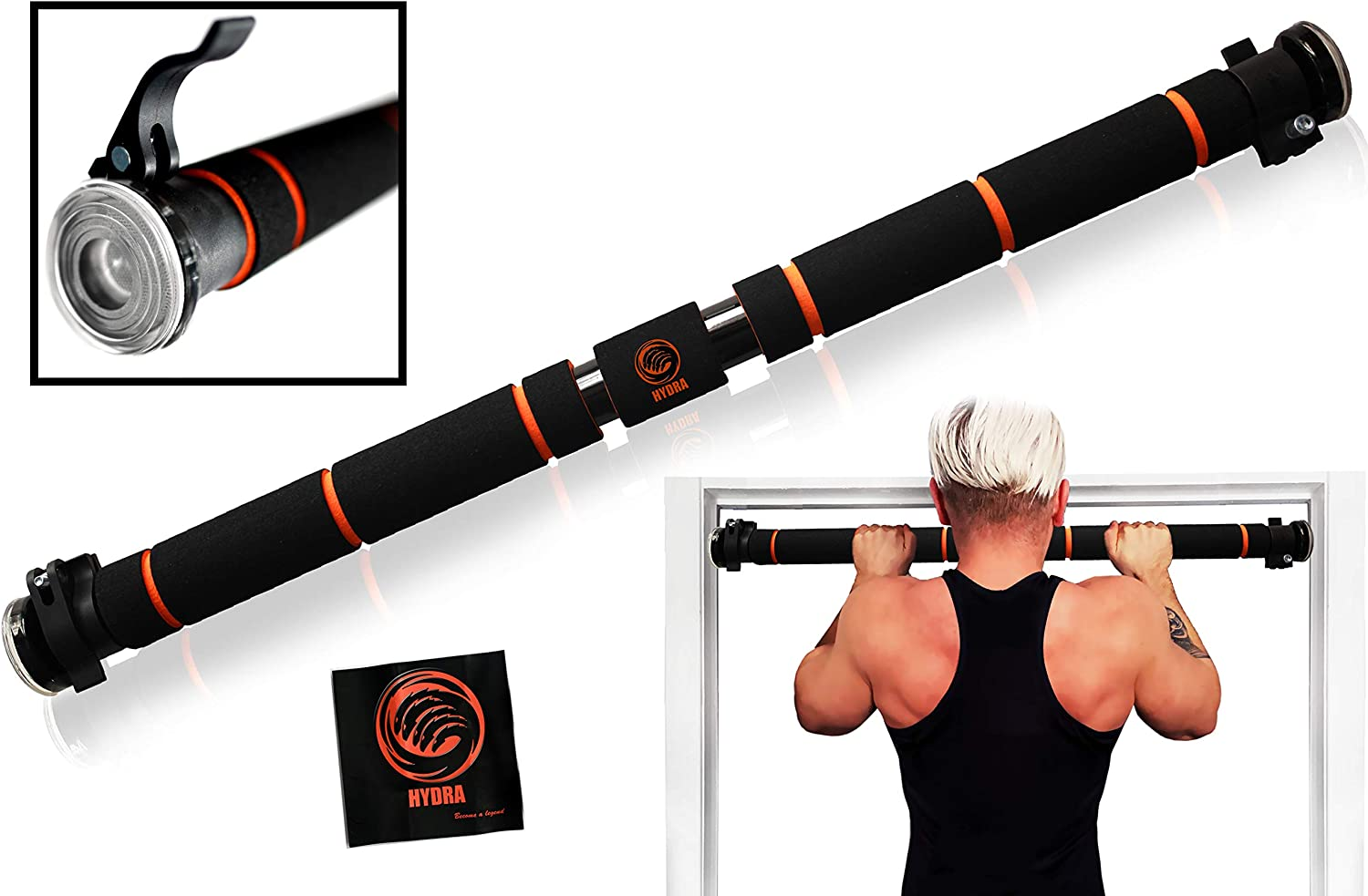 HYDRA Adjustable Pull Up Bar Courier shipping free shipping with Sma Doorway Chin – latest