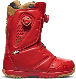 DC Shoes Mens Shoes Judge - Snowboard Boots - Men - US 9 - Red Racing Red US 9 / UK 8 / EU 42