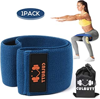 Exercise Bands Resistance Bands for Legs and Butt,  Loop Bands Booty Bands Hip Bands Workout Bands - Non Slip Design Bands(2019 Upgrade)