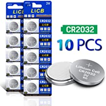LiCB CR2032 3V Lithium Battery(10-Pack)