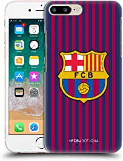 Official FC Barcelona Home 2018/19 Crest Kit Hard Back Case Compatible for iPhone 7 Plus/iPhone 8 Plus