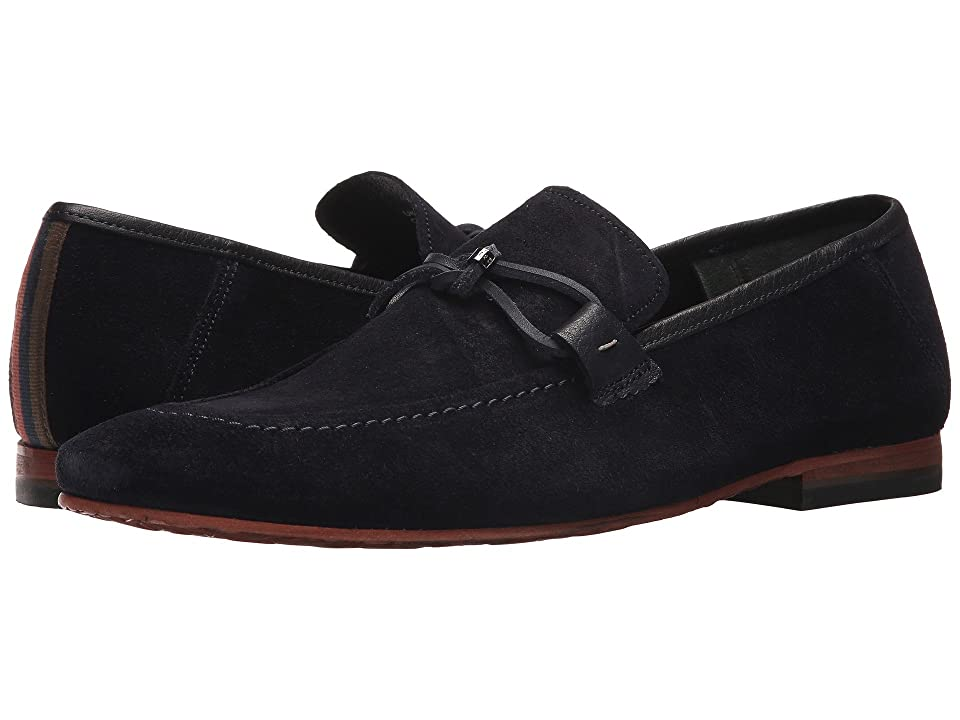 Ted Baker Hoppken (Dark Blue Suede) Men
