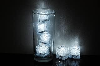 Litecubes Brand 3 Mode White Light up LED Ice Cubes (6)