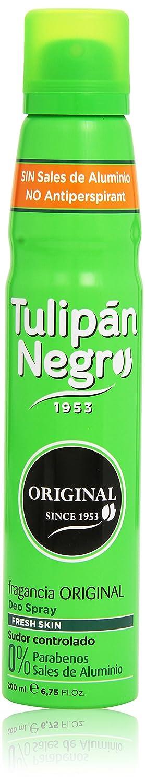 Tulipan Don't miss the campaign Negro Deodorant Spray 6.75 FL Original OZ Scent San Jose Mall