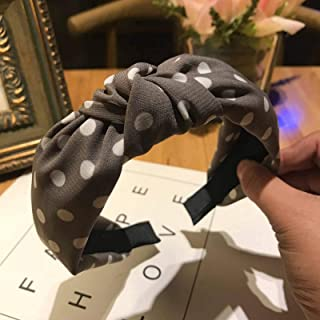 Broad-sided Cross Fabric Hair Band Simple Fashion Adult Ladies Mother Hair Accessories Washing Face Hair Band Headband