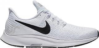 Nike AO3906-100: Women's Air Zoom Pegasus 35 White/Black/Platinum Wolf Grey Shoe