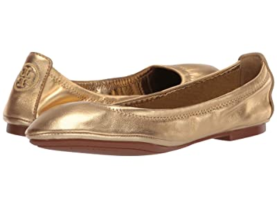 Tory Burch Eddie Ballet (Gold) Women