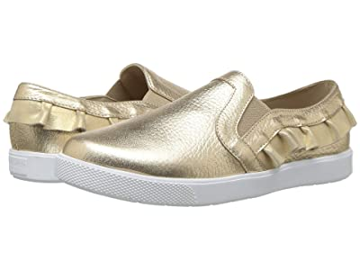 Elephantito Ruffled Slip-On (Toddler/Little Kid/Big Kid) (Gold) Girls Shoes