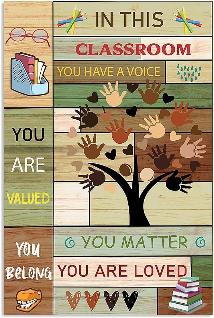 Teacher Classroom Poster In This Max 71% OFF Have You Post Ranking TOP9 Voice A