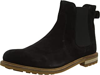 Clarks Foxwell Top, Bottes Chelsea Homme
