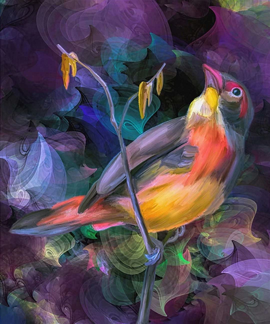 Mstoio Popular Jigsaw Puzzles for Adults Piece Wooden NEW before selling 3000 Bird Painted
