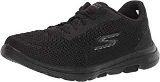 Skechers 15902 Go Walk 5 Lucky Blk Womens Shoes Flats Shoes