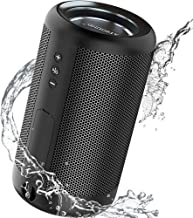 ATSOUND Portable Bluetooth Speaker, IP65 Waterproof...