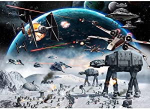 Photography Backdrop 1st Birthday 7x5 Star Wars Galaxy Backdrop for Boy Birthday Vinyl Photo Background Star Wars for Parties Personalized Studio Backgrounds