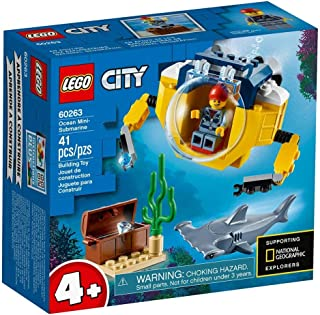 LEGO City Oceans Ocean Mini-Submarine for age 4+ years old 60263