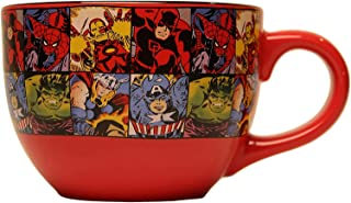 Sponsored Ad - Silver Buffalo Marvel Comics Grid Ceramic Mug, 24-Ounces, Multicolor