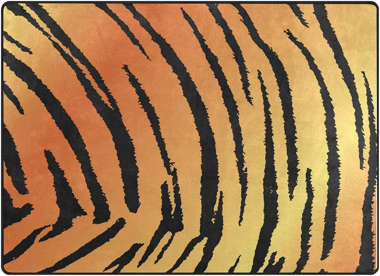 FAJRO Tiger Skin Print Rugs for entryway Doormat Area Rug Multipattern Door Mat shoes Scraper Home Dec Anti-Slip Indoor Outdoor