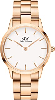 Daniel Wellington DW00100209 Stainless Steel White-Dial Round Analog Watch for Women - Gold