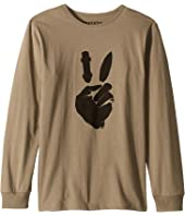 Peace Ride Long Sleeve Tee (Toddler/Little Kids/Big Kids)