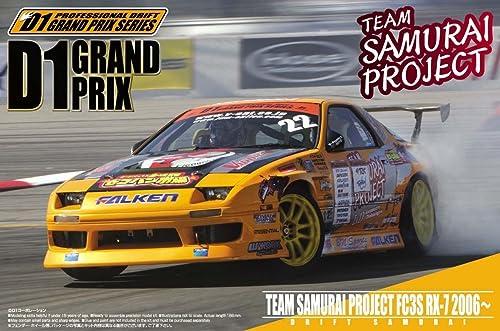1 24 D1 Grand Prix No.11 team samurai project FC3S RX-7 2006  (japan import)