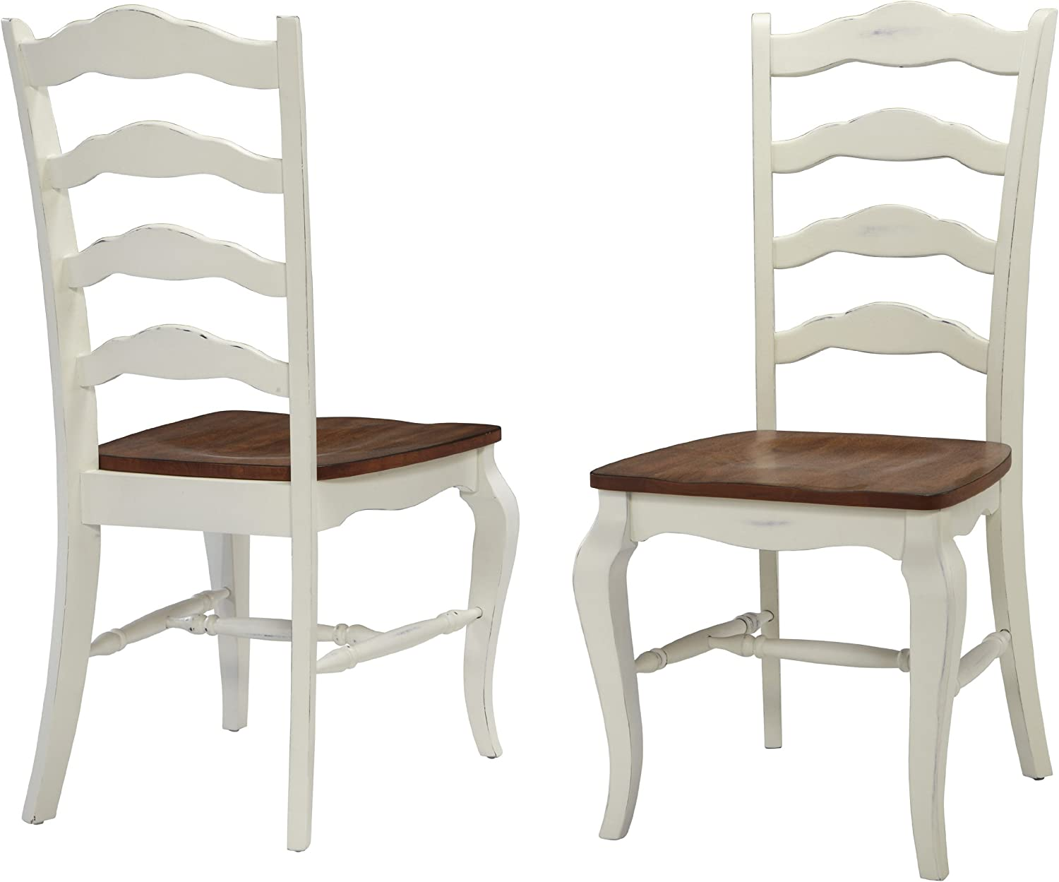 Home Styles French Countryside Philadelphia Mall Oak White Nashville-Davidson Mall Pair with Dis of Chairs