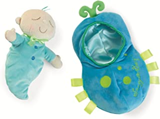 Manhattan Toy Snuggle Pod Snuggle Bug First Baby Doll with Cozy Sleep Sack for Ages 6 Months and Up