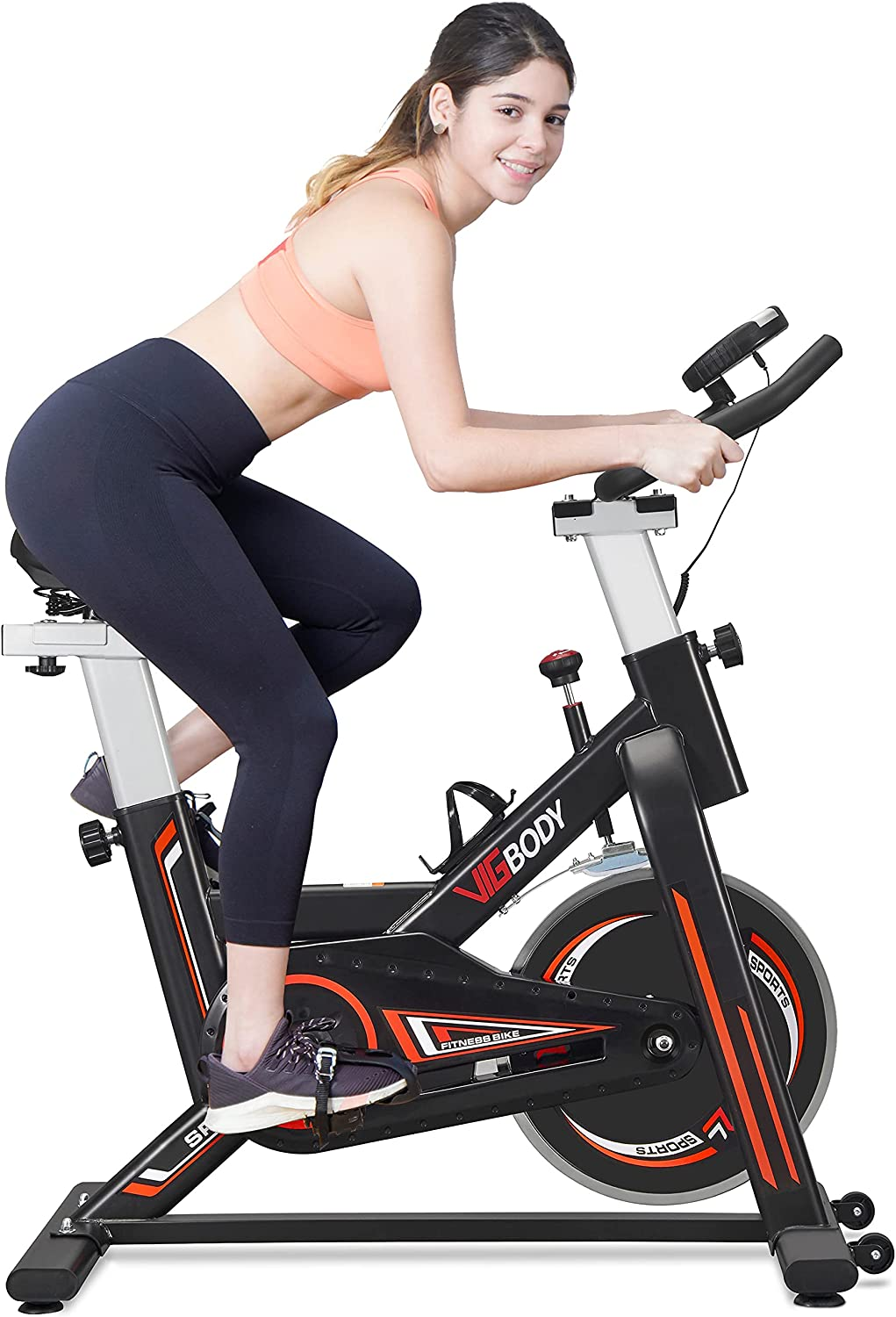 VIGBODY Super-cheap Stationary Exercise Bike Cycling Ranking TOP3 for Cardio Indoor