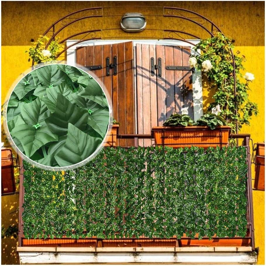 Artificial Ivy Very popular Privacy Screen Fence Polyester Leaf Ranking integrated 1st place Windshield