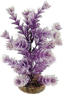 Blue Ribbon CB-2034-PP-WH Purple/White Water Crest Plant Color Burst Florals Gravel Base Plant