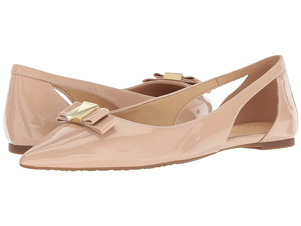 MICHAEL Michael Kors Carlson Flat (Light Blush Patent) Women