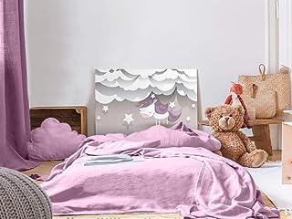 Cabecero Cama Infantil PVC Impresión Digital Unicornio 115 x 60 cm | Disponible en Varias Medidas | Cabecero Ligero, Elegante, Resistente y Económico