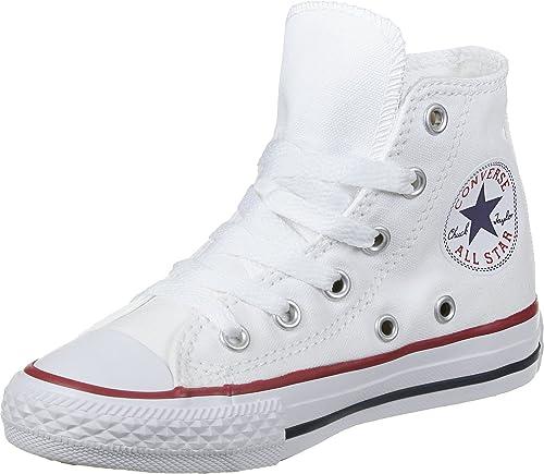 Converse Chucks Bambini 3J253C AS Hi Can Bianco Bianco