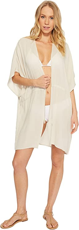 Echo Design Solid Open Front Caftan