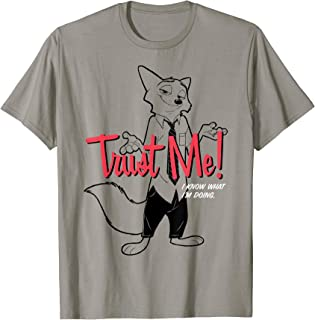 Zootopia Nick Wilde Trust Me I know What I'm Doing T-Shirt