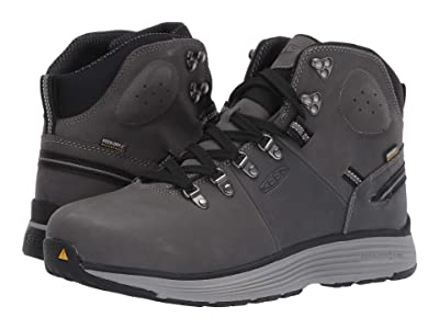 Keen Utility Manchester 6 Aluminum Toe WP (Forged Iron/Black) Men
