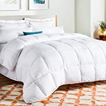 LINENSPA All-Season White Down Alternative Quilted...