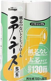 【ケース販売】春日製紙 コアユース130m 6Rシングル 8パック